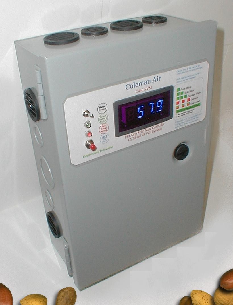 12 24 48v Wind Solar Diversioncharge Controller With Meter C440hvm