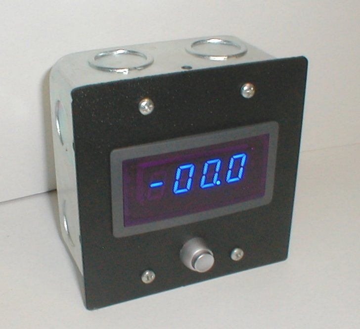 digital amp panel meter