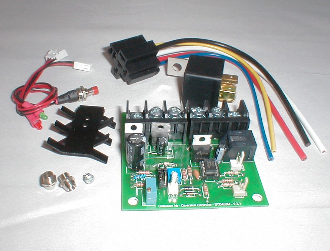 Coleman Air 40a Wind Solar Charge Controller Diversion Regulator Circuit Dlc Ckit