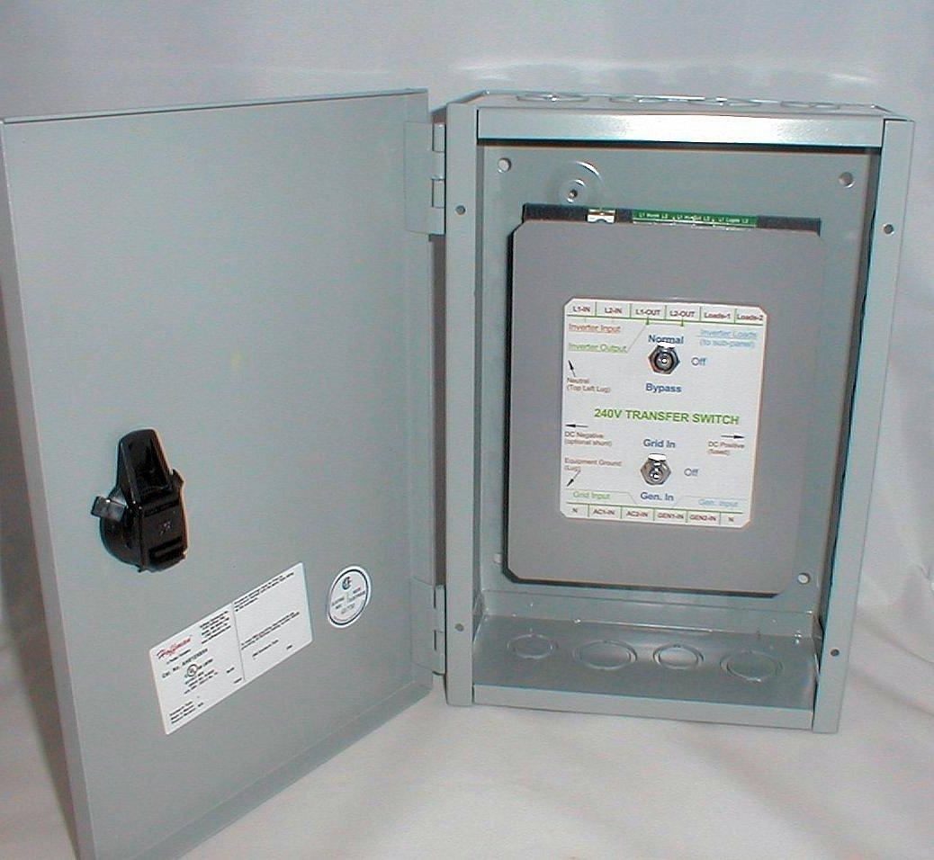 Its 240 Inverter Grid Generator Transfer Switch 240 120 Volt Ebay